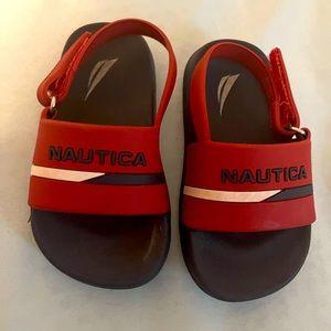 Nautical sandals for children